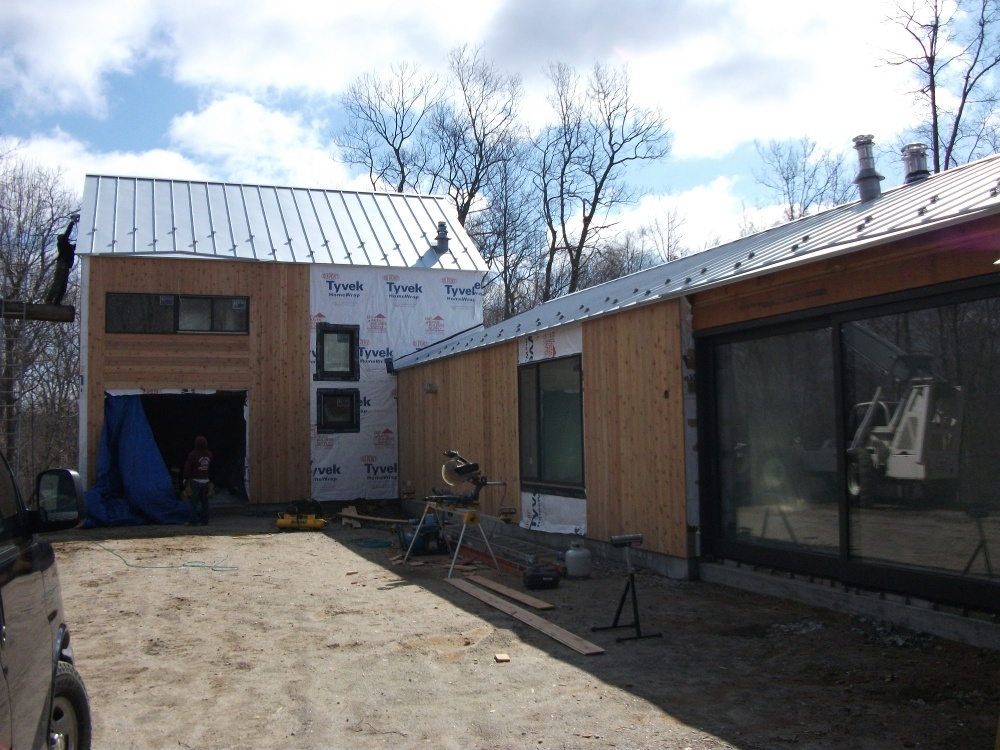 Kent ct spray foam for new construction beacon spray for Styrofoam house construction