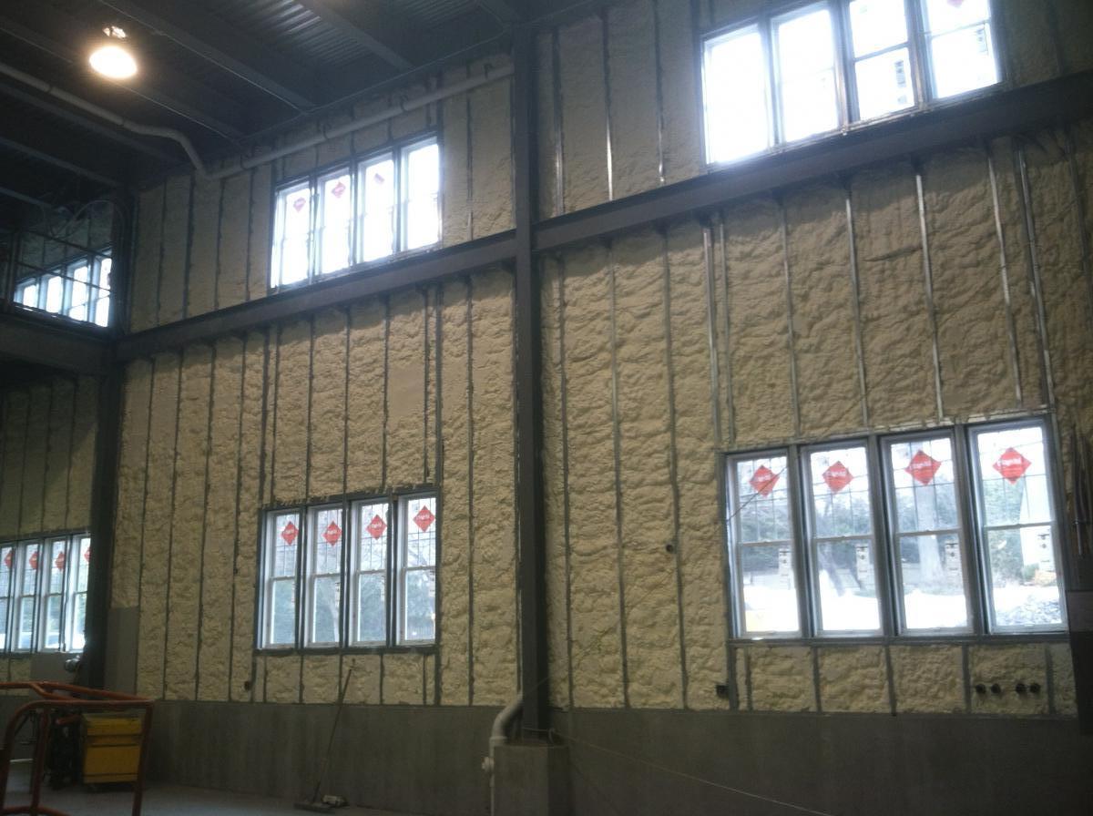 Boat Storage Facility Large Warehouses Beacon Spray
